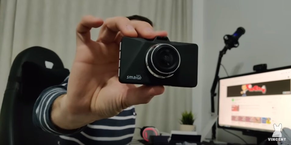 Unboxing Camera video auto Smailo Optic